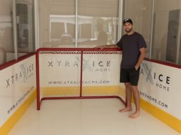 Ekblad synthetic ice for hockey training